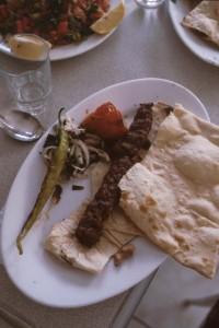Kebab, pide